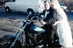 Brooke & I on our wedding day, Feb.12-94