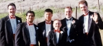 Bemiller,Lal,Lee, ME, my nephew and Booth @ my wedding